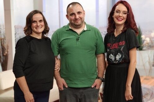"Radio amateurs from Neterra were guests in the talk show ""Closer"" on BNT 1 TV"
